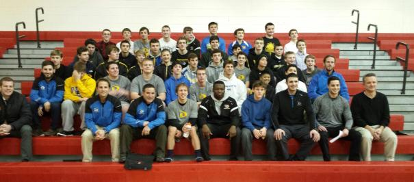 Downingtown East and Lionville Middle Wrestling